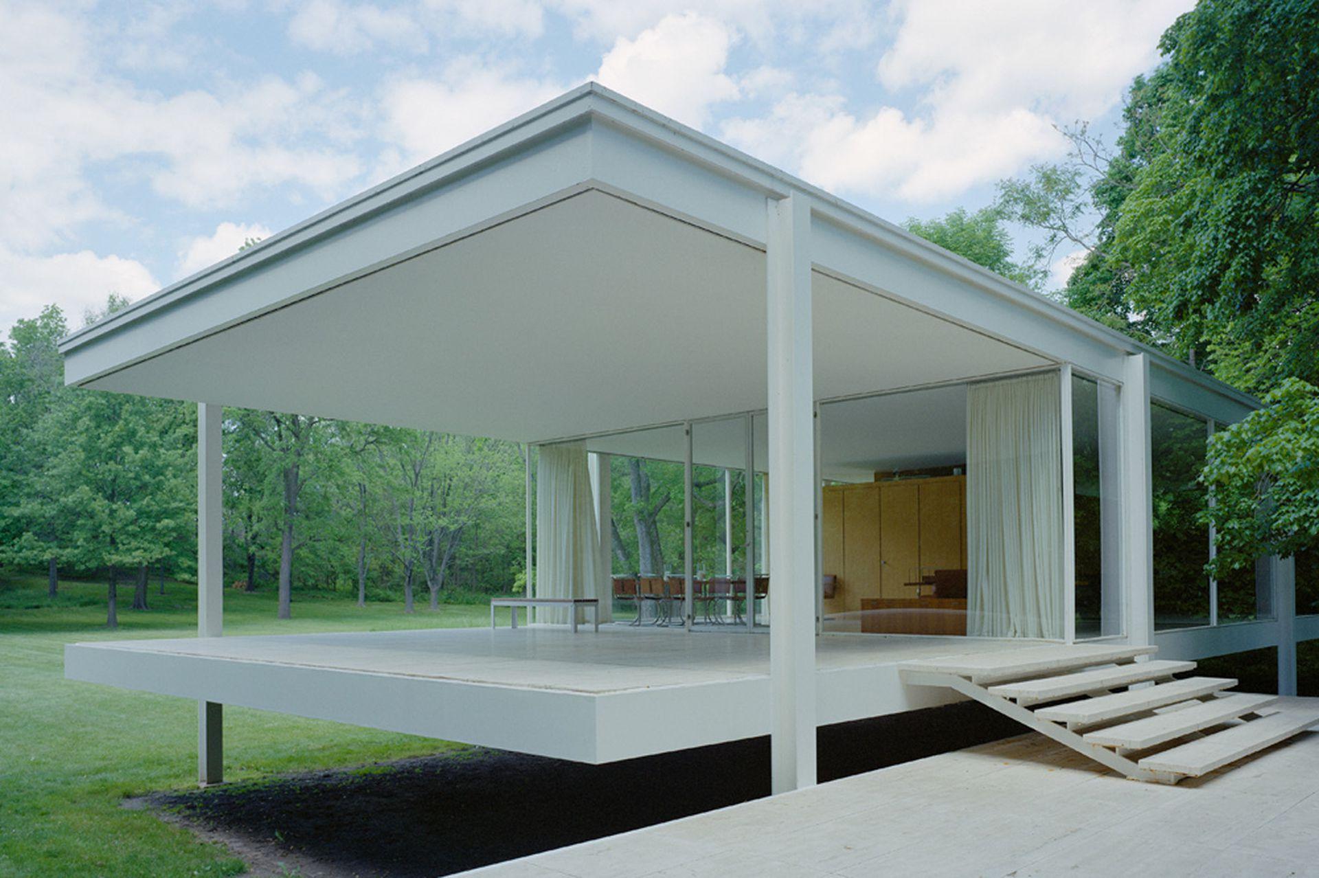 Casa Farnsworth, de Mies van der Rohe