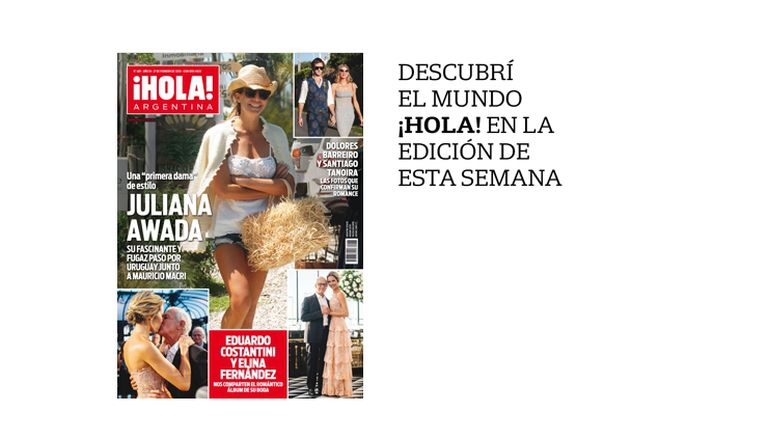 La tapa de revista ¡Hola! Argentina de esta semana