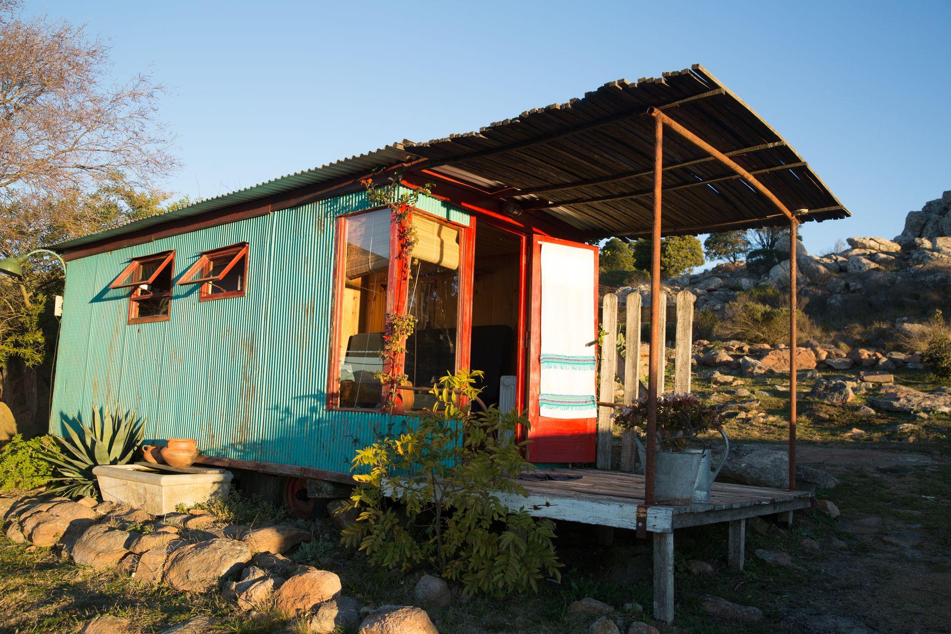 Glamping, una tiny house en plan íntimo.
