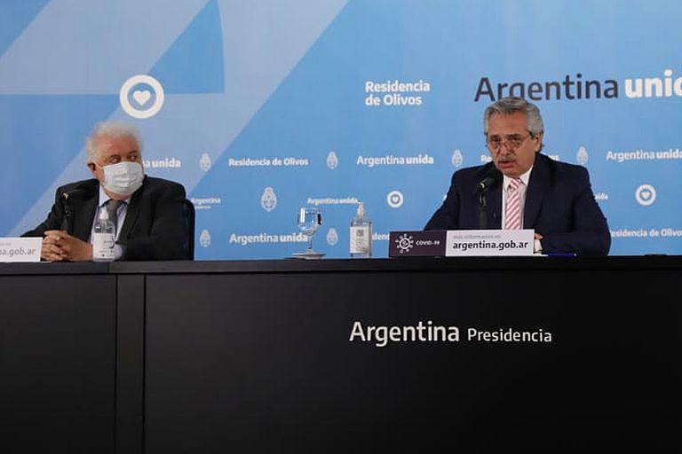 El Presidente anunció hoy que la Argentina producirá la vacuna creada en Oxford