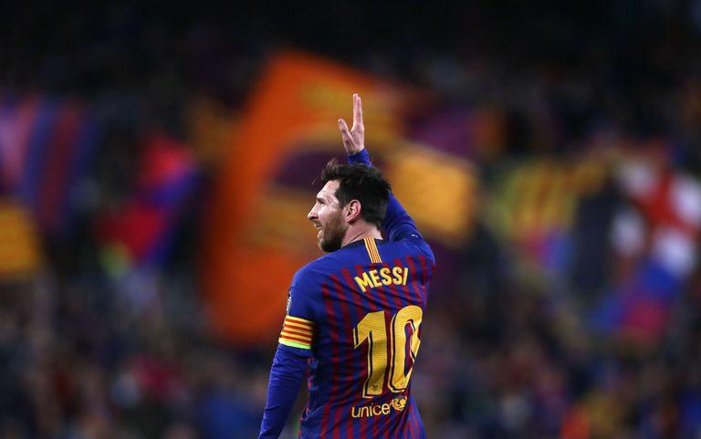 Una imagen icónica: Messi y Barcelona se saludan mutuamente
