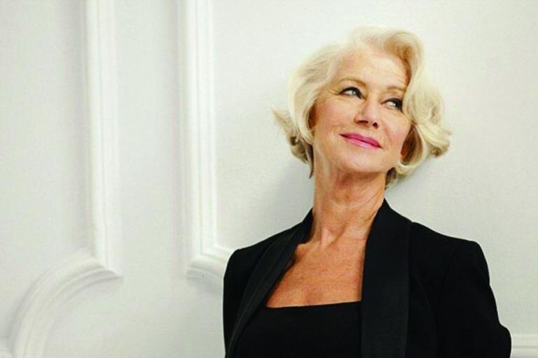 Helen Mirren, con sus 75 años, como embajadora de L'oréal.