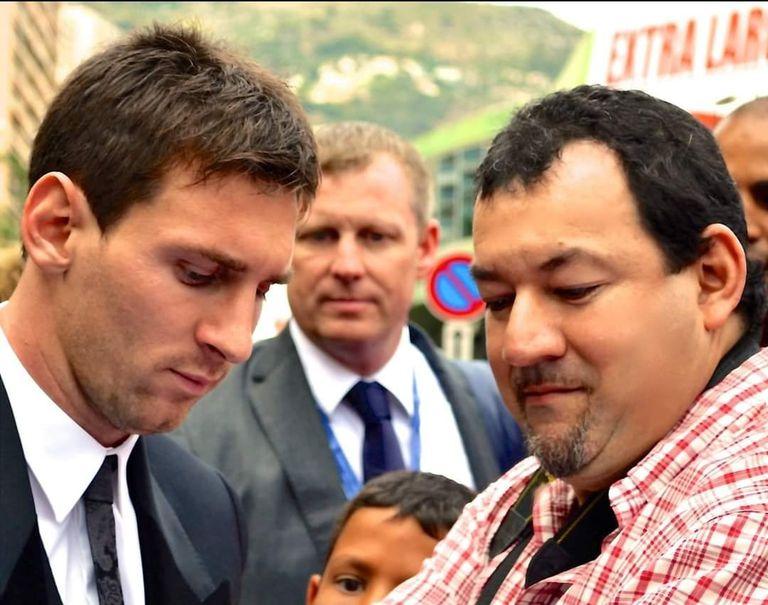 Raúl Bragagnolo le cocinó Lionel Messi crepe de acelga con salsa Bechamel