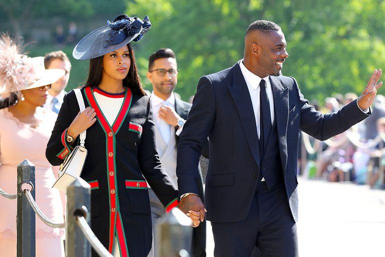 El actor, Idris Elba, con su mujer Sabrina Dhowre