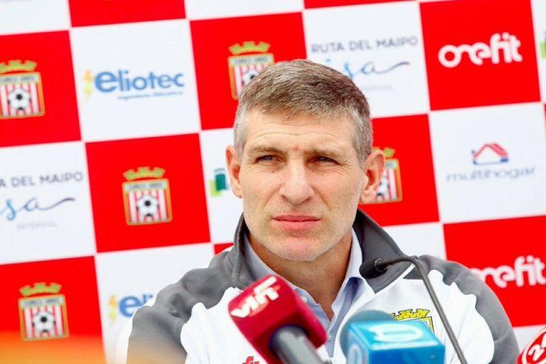 Nuevo destino: Martín Palermo es el nuevo entrenador de Curicó Unido de Chile