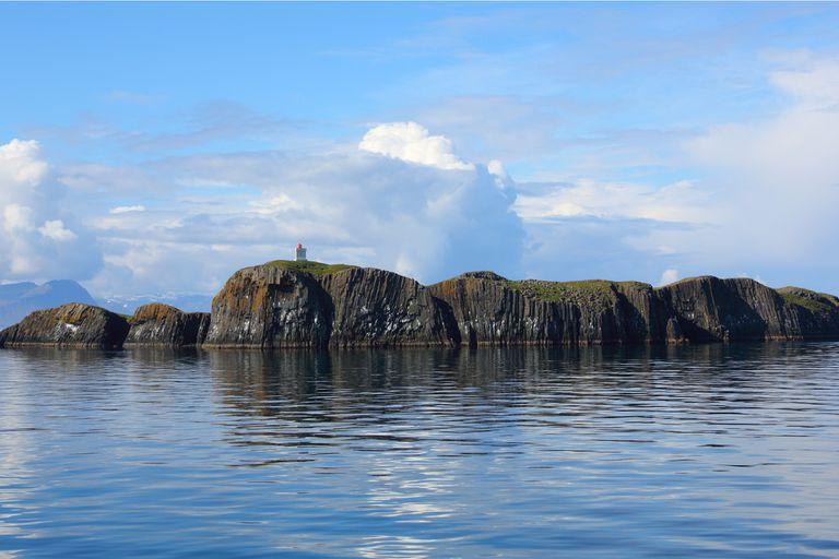 El tesoro que se oculta en una isla perdida del Atlántico Norte