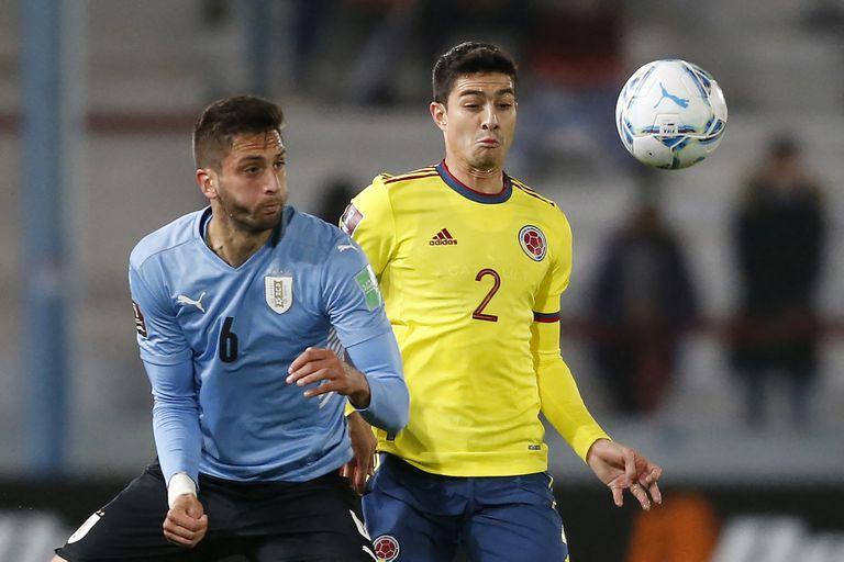 Mucha lucha y pocas emociones entre Uruguay y Colombia en Montevideo