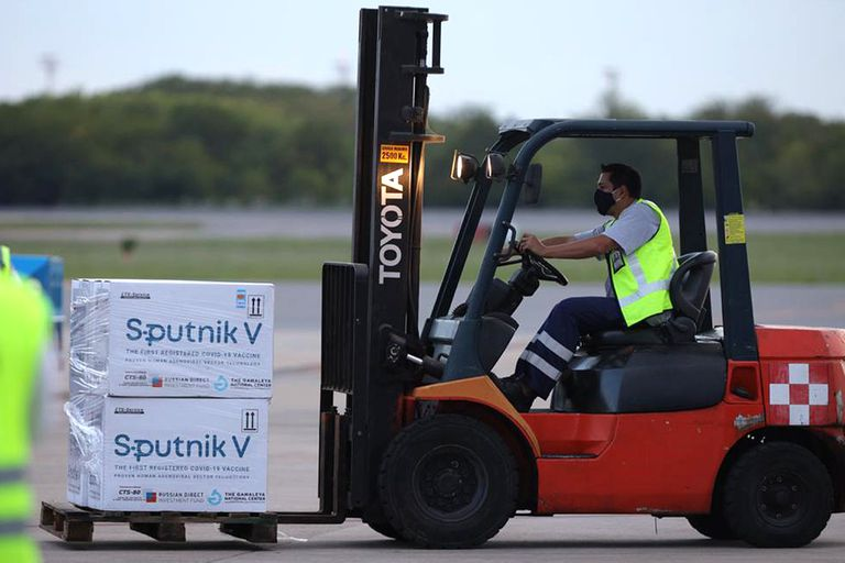 El viernes pasado llegó al país el cuarto cargamento de vacunas Sputnik V