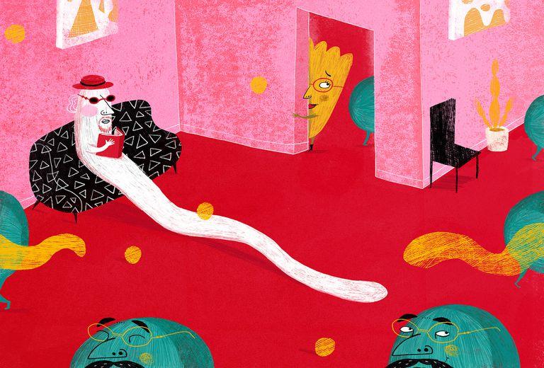 """Imagen interior del libro """"Cualquier verdura"""", ilustrado por Burín"""