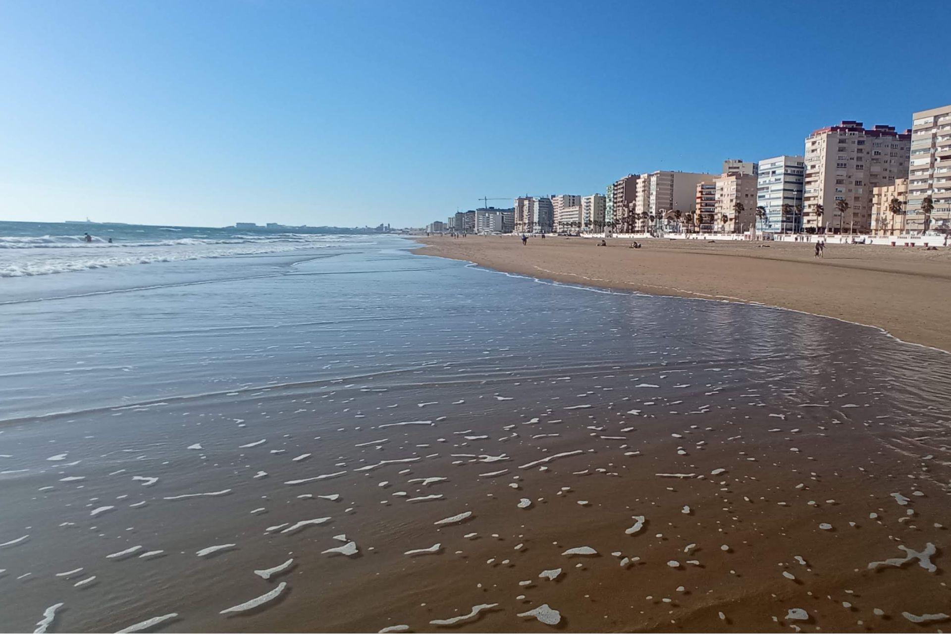 La Playa de la Victoria transportó a Aldo a su Monte Hermoso natal.