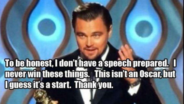 Un Globo de Oro no es un Oscar