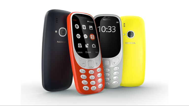 La versión 2017 del Nokia 3310