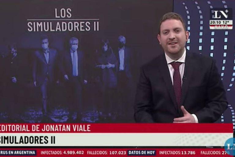 """Jony Viale comparó al gobierno con una clásica serie argentina: """"Fingen, actúan y engañan a la gente"""""""