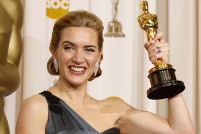 El insólito lugar de la casa donde Kate Winslet guarda su premio Oscar