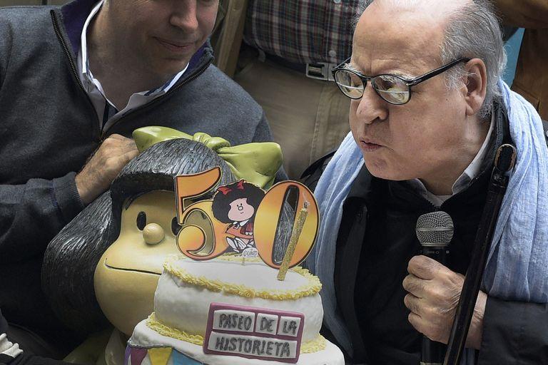 Festejando los 50 años de Mafalda