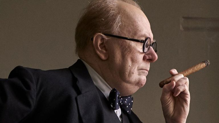 Gary Oldman, en la piel de Churchill