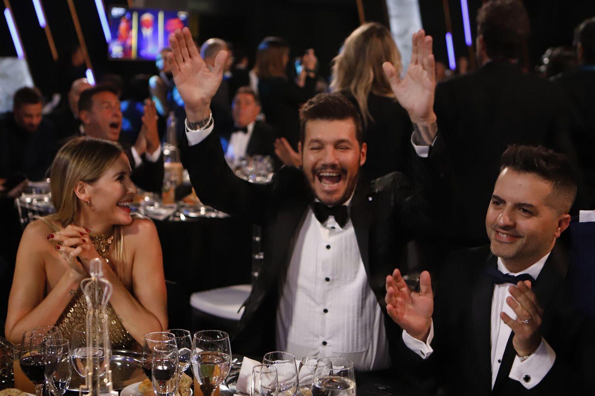 Marcelo Tinelli, feliz por el nuevo triunfo de ShowMatch