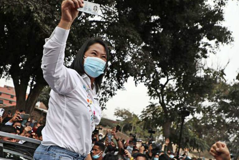Keiko Fujimori ganó en Lima y en la costa norte