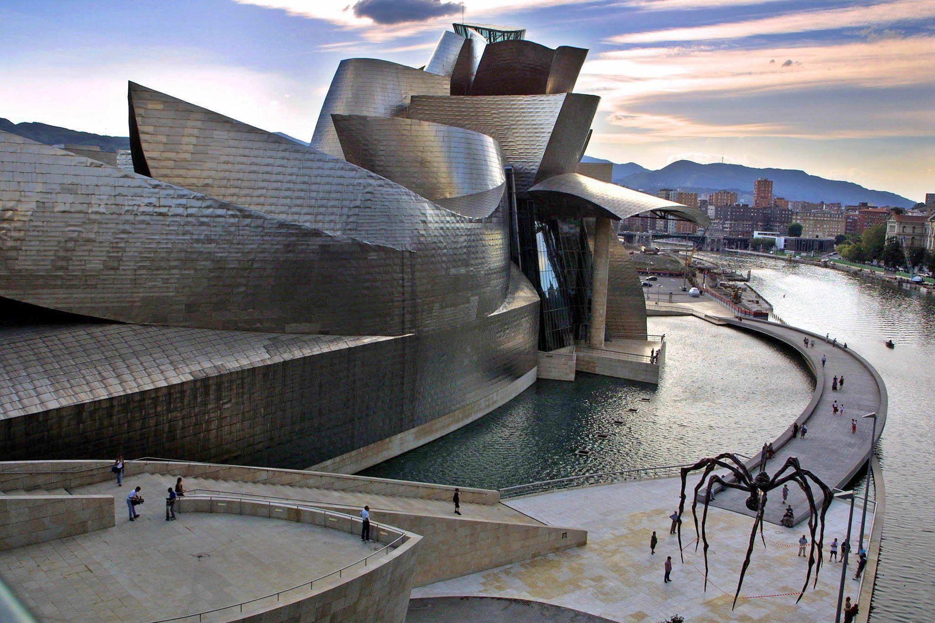 Museo Guggenheim de Bilbao, de Frank Gerhy