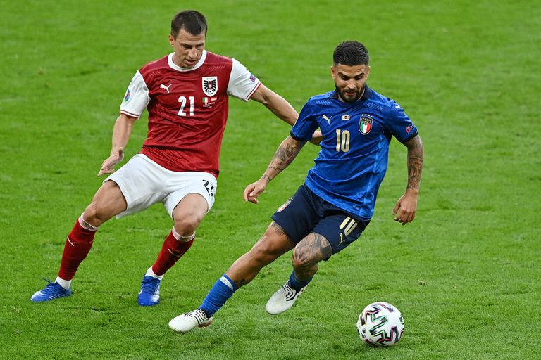 Lorenzo Insigne, una de las figuras de Italia en la Eurocopa; espera ser clave en el partido ante España por un pasaje a la final