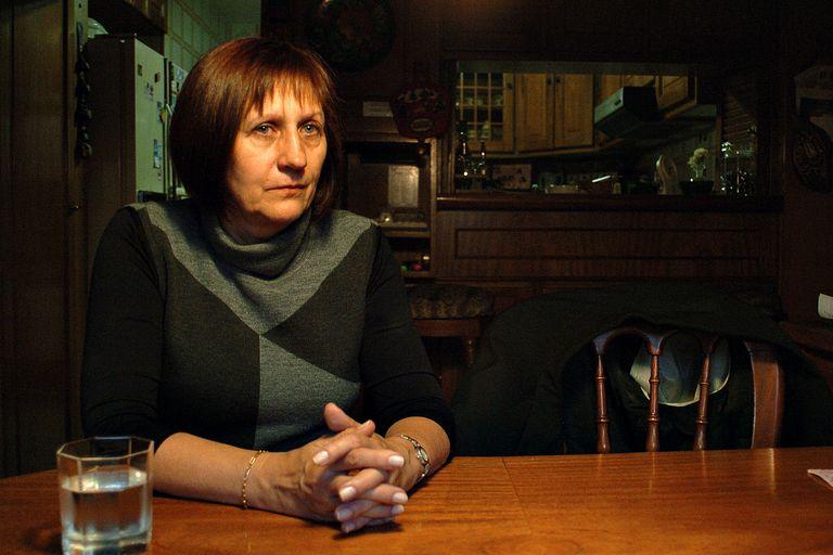 Maria Elena Usonis, la madre de Axel Blumberg