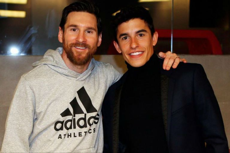 Marc Márquez confesó qué es lo que más le sorprende de Lionel Messi