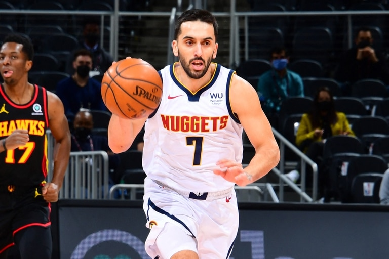 Facundo Campazzo Denver Nuggets Atlanta Hawks NBA