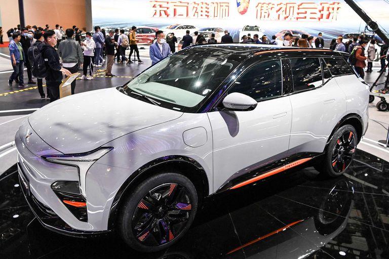 Hengchi 5. Primer modelo EV de Evergrande, que sin vender vale US$87.000 millones