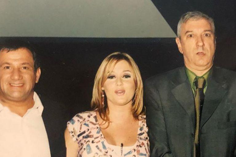 Pilar Smith junto a Mauro Viale, en una de las fotos retro que compartió la periodista