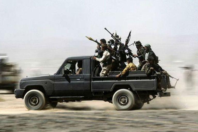 Los hutíes forman parte de una amplia red de milicias armadas apoyadas por Teherán en la región
