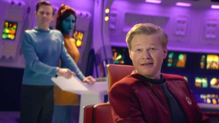 Jesse Plemons en el primer episodio, USS Callister