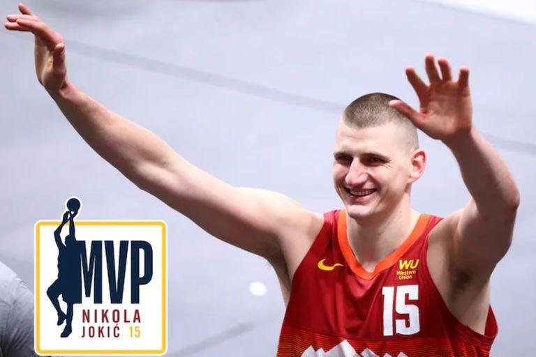 Subestimado y muchas veces menospreciado, el serbio Nikola Jokic completó una temporada memorable y fue elegido el MVP de la NBA