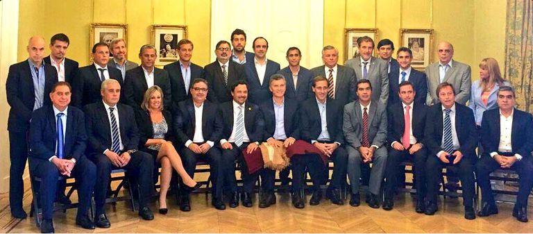 La foto oficial del encuentro