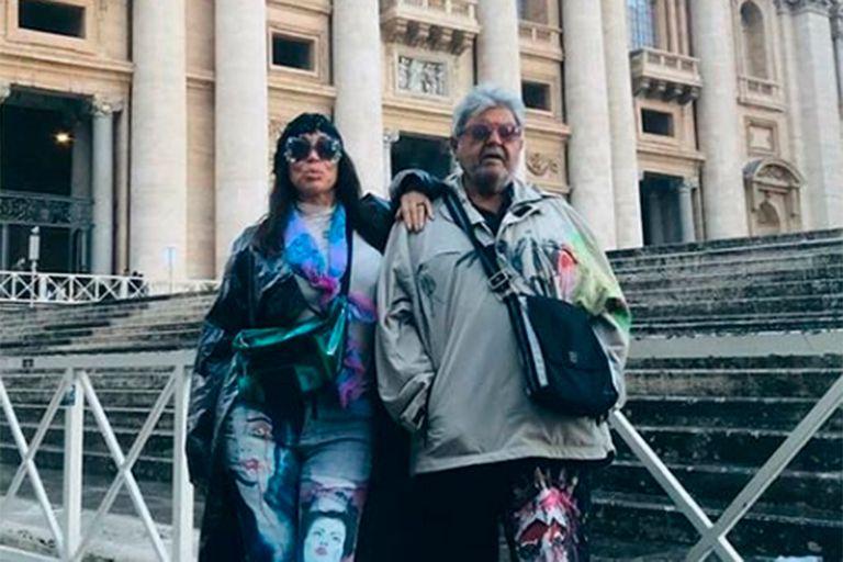 Moria Casán mantuvo un acaramelado diálogo en vivo con su nueva pareja, Humberto Poidomani