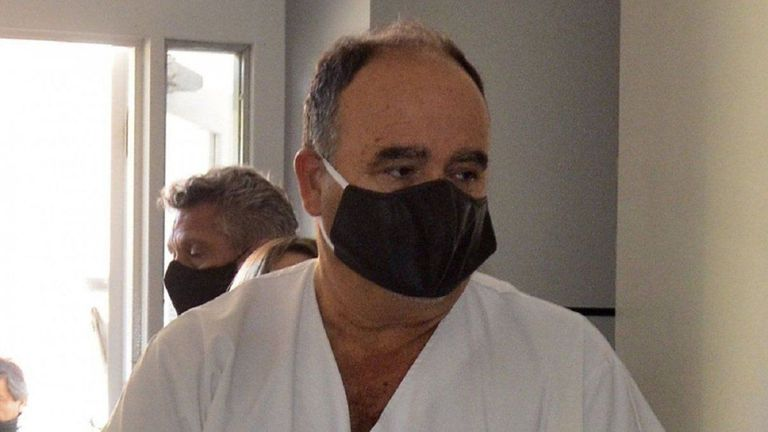 El director del centro del Hospital Regional, Eduardo Wasserman