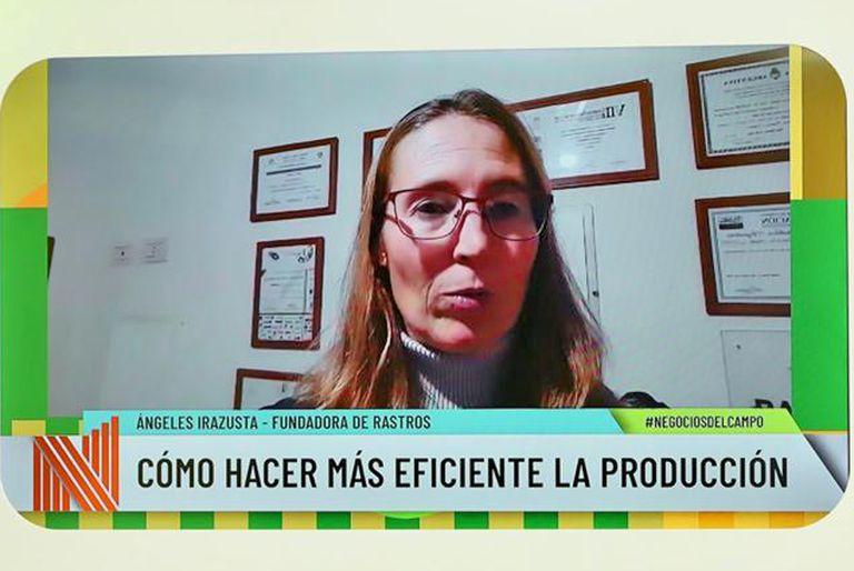 María de los Ángeles Irazusta es ingeniera agrónoma y cofundadora de la fundación Rastros