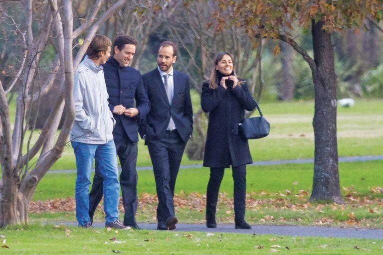 Juan Zorreguieta –padrino de Alexia– fue consolado por sus amigos más cercanos. A fines del año pasado se separó de su mujer, Andrea Wolf, una política austríaca.