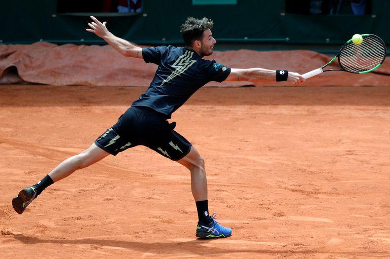 Juan Ignacio Londero enfrenta al francés Gasquet en Roland Garros