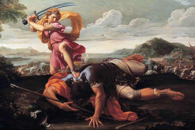 El descubrimiento fue realizado en la zona de Gat, la antigua ciudad que fue el escenario del relato bíblico de David y Goliat