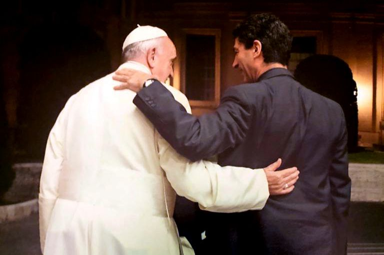 Un encuentro entre el Papa y Zampini