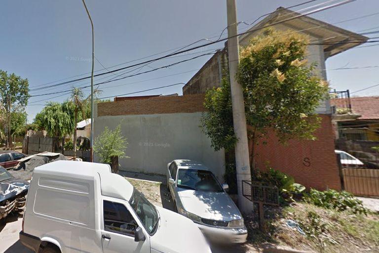 El lugar donde Elizabeth Toledo fue violada y asesinada, en San Fernando