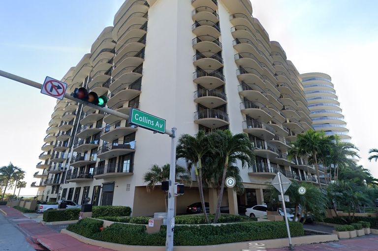El  Champlain Towers en Miami