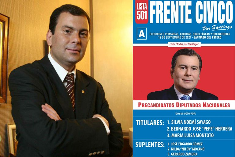 Gerardo Zamora irá en busca de su cuarto mandato como gobernador, pero además irá como candidato a diputado nacional suplente para traccionar la lista oficial