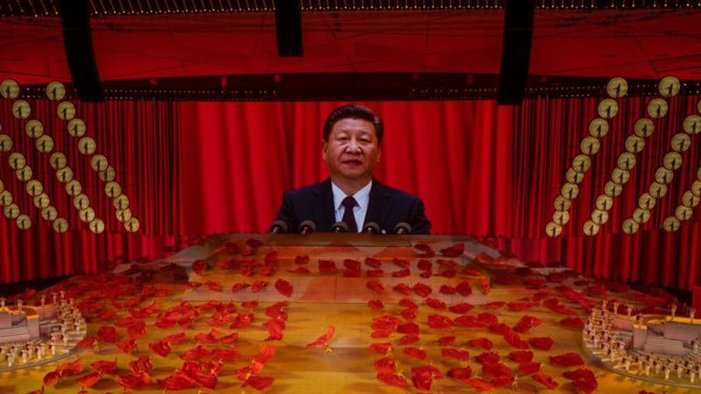 El Partido... y en la cima, Xi Jinping