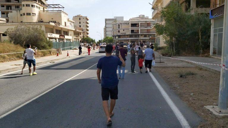 08-10-2020 Reapertura de la zona de Varosha, en el norte de Chipre POLITICA EUROPA INTERNACIONAL TURQUÍA MINISTERIO DE DEFENSA DE TURQUÍA