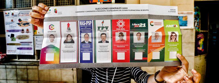En fotos: las elecciones de Bolivia en las escuelas porteñas