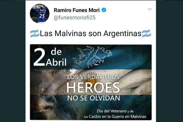 Duras reacciones al mensaje de Funes Mori sobre las Malvinas