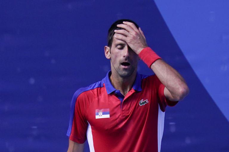 Djokovic sin medalla y un final de jornada complicado para Lange-Carranza: cómo quedaron en las posiciones