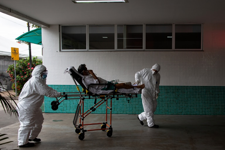 Hospital en Manaos, Amazonas, Brasil