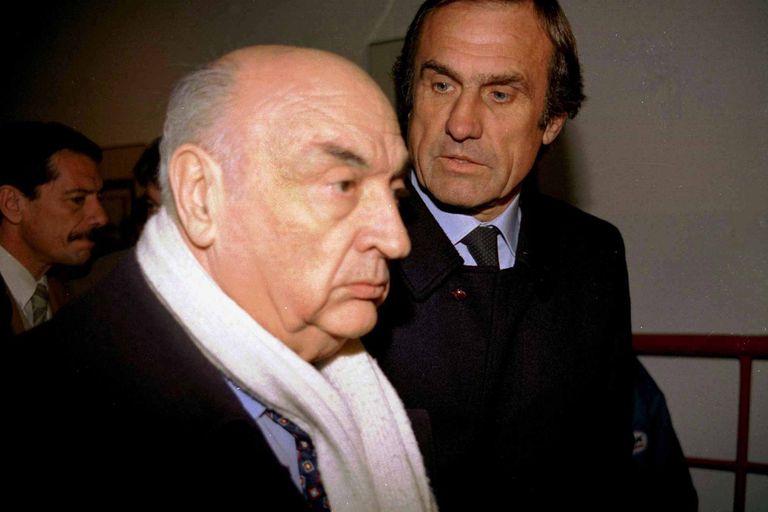 Lole Reutemann junto con José Froilán González, otro de los argentinos que brillaron en la F.1